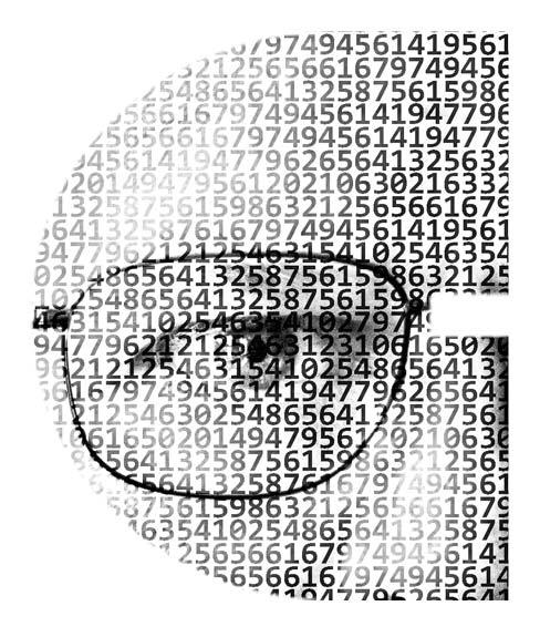 Brad Portrait Code Letter C