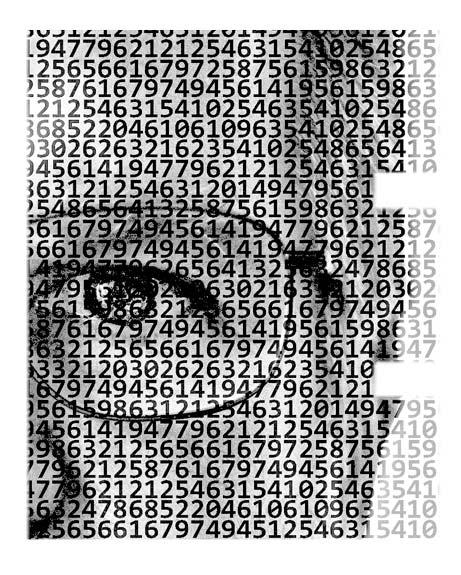 Brad Portrait Code Letter E