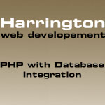PHP with Database Integration